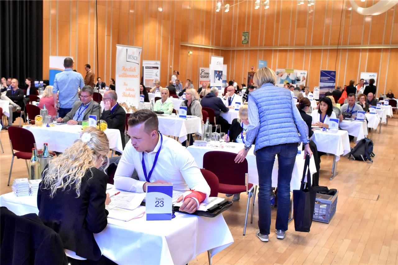 Job speed dating Vorbereitung