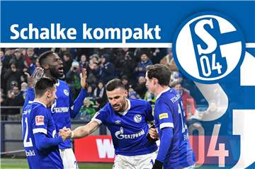 22. Januar: Eine Trainingseinheit in Gelsenkirchen