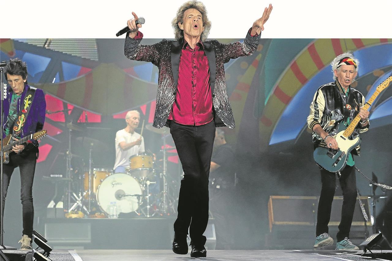 Rolling Stones Gestrandet Im Kamener Kreuz