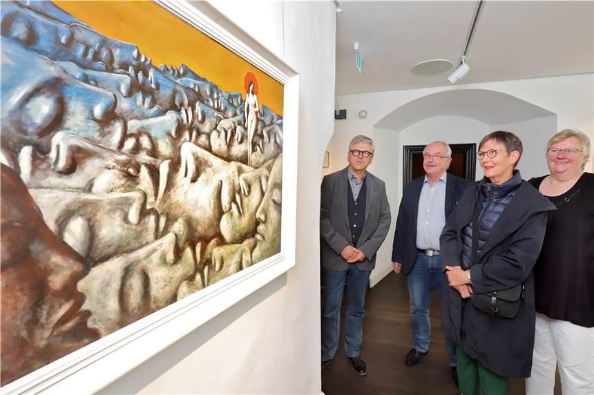 Neue Ausstellung auf Haus Opherdicke eröffnet