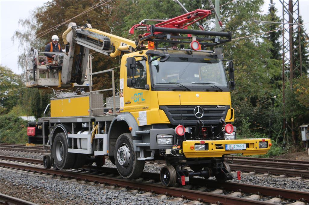 Streckensperrung Dortmund Hamm