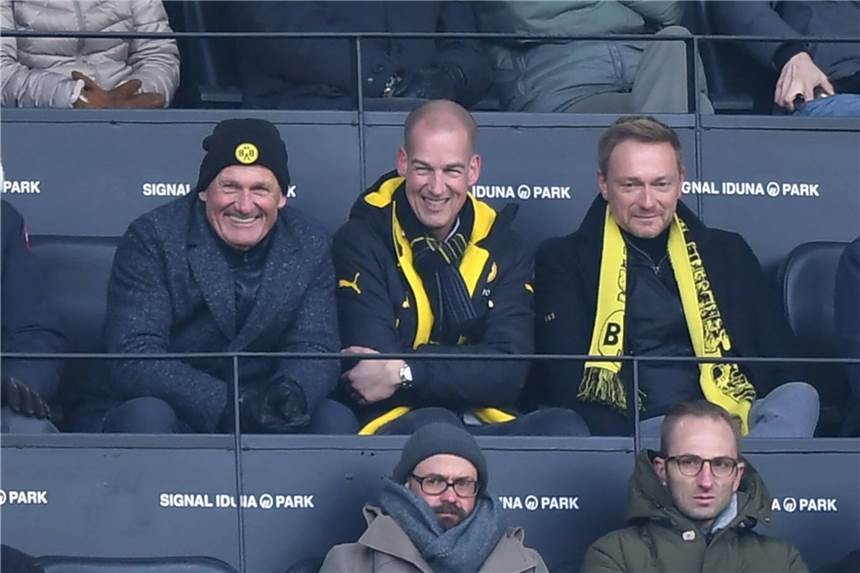 FDP-Chef Christian Lindner setzt BVB-Tradition fort
