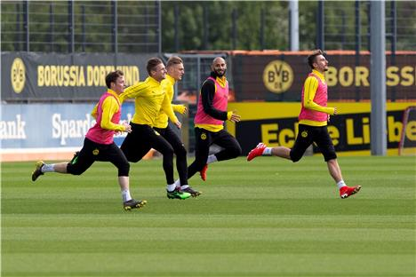 bvb training in brackel am 5 mai. Black Bedroom Furniture Sets. Home Design Ideas