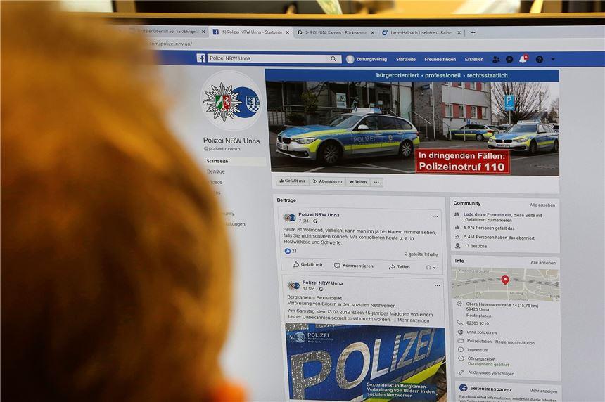 Polizei Fahndung Facebook