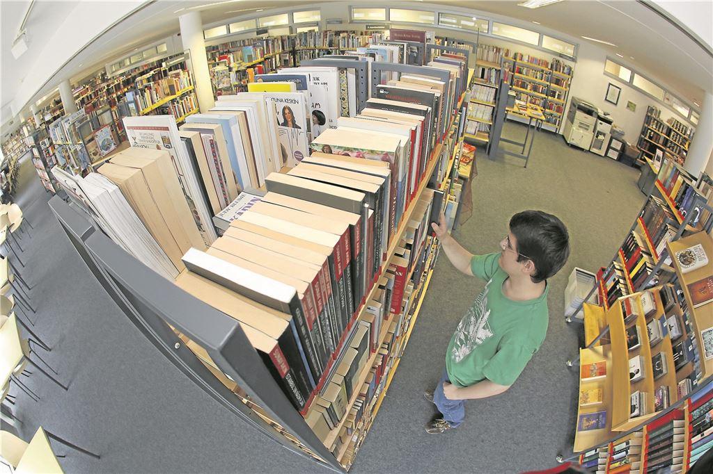 La page d'accueil de la bibliothèque peut être utilisée pour savoir quels volumes sont disponibles sous forme de livres électroniques ou de livres imprimés et s'ils sont disponibles.