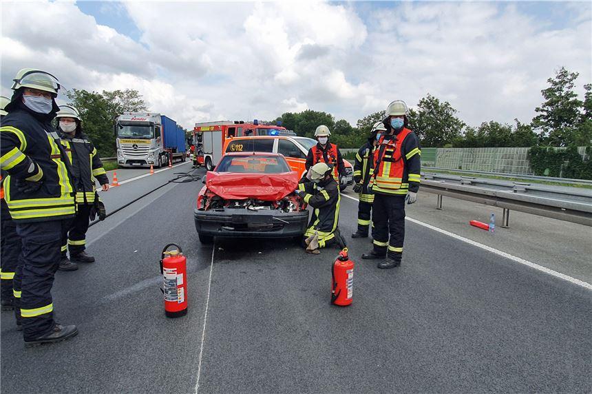 Unfall A1 Freitag