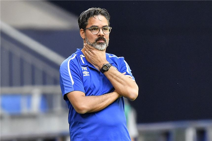 Will Schalke-Trainer bleiben: David Wagner.